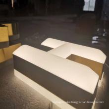 Waterproof backlit channel resin letter