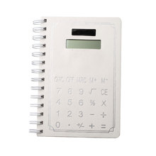 8 Digits Notebook Calculator with 70 Pages Paper