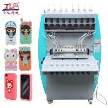 Plastiksilikon-Telefon-Kasten, der Maschine herstellt