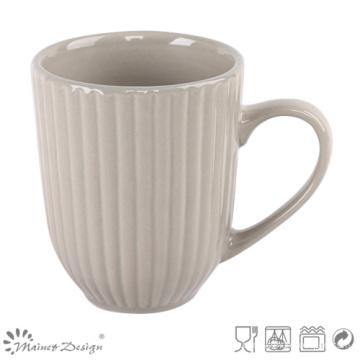 Tasse de café en céramique gaufrée de 12oz