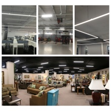 Free Connection LED Line Lighting Double Brighter Than T8 LED Tube