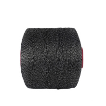 2020 factory direct sell mixed colors 150D Black 150D Gray blended spun polyester yarn for knitting