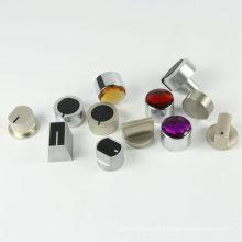Personalizado de zinco alumínio liga botão Twist