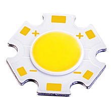 Star Shape, Superbrightness 7W COB LED Chips