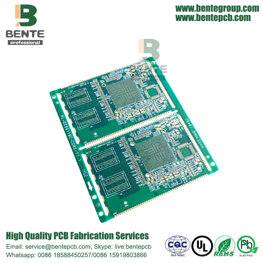 Half Hole High-precision Multilayer PCB Impedance Control