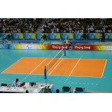 Volleyball indoor roll court mat