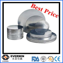 0.4mm-5.0mm 1050 Disco de aluminio Wafer O