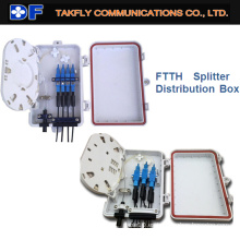 FTTH Caja de distribución óptica impermeable para interiores