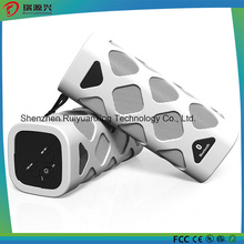 Haut-parleur portable Bluetooth avec microphone intégré (blanc)
