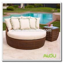 Audu Cheap Antique Wicker Love Seat
