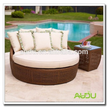Audu Cheap Antique Wicker Love Seat