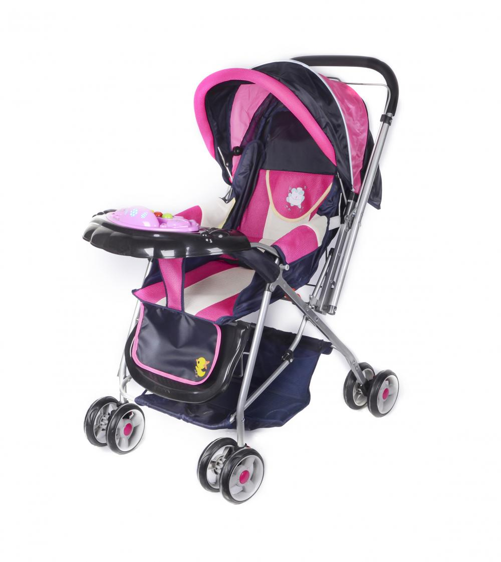 Pushchair Baby Stroller with Handle Bar