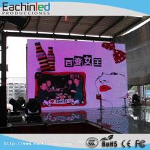 L'écran mené par location extérieure polychrome de SMD3535 P5 / a mené l'affichage visuel mené