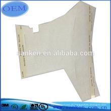 Espuma de insonorização com corte de matriz com adesivo