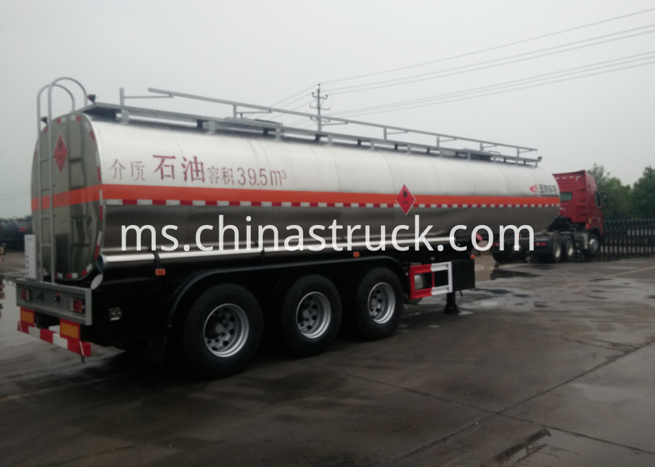 40M3 stainless steel tank semi-trailer