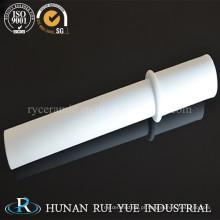 Tubo Cerâmico de 95% de Alumina com Branco e Rosa