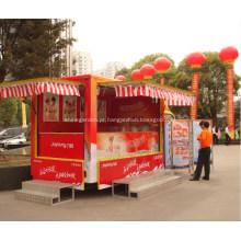 Loja de venda automática com loja multifuncional