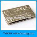 Neodymium name badge magnetic pin