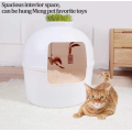 Semi-Closed Cat Toilet Box
