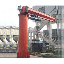5 Ton, 7 Ton, 10 Ton Heavy-duty Free Standing Jib Crane For With Electric Wire Rope Hoist For Warehouses / Storage Yard