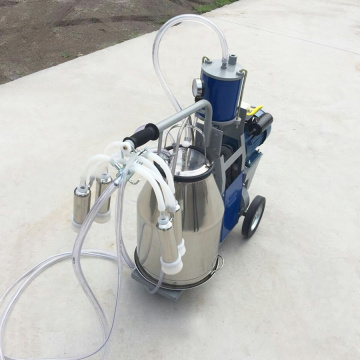 Double 25L Buckets Portable Milking Machine for Sheep/Goat