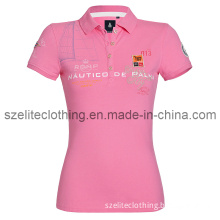 Customized Slim Fit Polo Shirts for Woman (ELTWPJ-37)