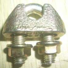 Fabrication de Chine gréement DIN 1142 câble pince