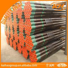 Caixa e tubulação api 5ct j55 k55 n80 l80 p110 / tubo de revestimento / invólucro e tubagem