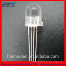3mm 5mm 10mm super lumière jaune led diode led prix moins cher
