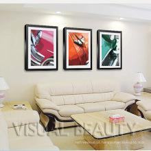 Quadros Carros Arte da parede da lona da foto para a decoração do casamento