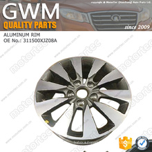 chinese car parts great wall spare parts aluminium wheel 3113200XJZ08A