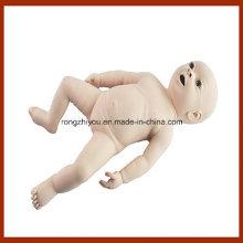 Modelo neonato de seguimiento médico de enfermería de tamaño natural para profesionales