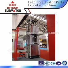 Elevador de duchas / puerta con bisagras / acero inoxidable 0,4 m / s
