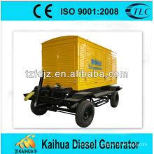 160kw Daewoo trailer type diesel generator sets