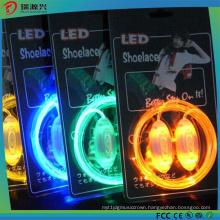 China Manufacture & Supplier Flashing Glow Shoe Laces