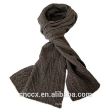 15STC2124 cable wool cashmere scarf