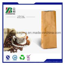 Plastikkaffee-Nahrungsmittelverpackungs-Reißverschluss-Beutel mit Ventil