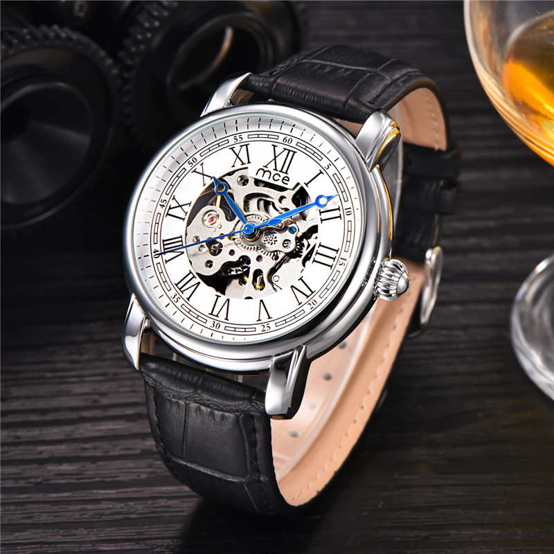 classic oem stainless steel bands automatic movement mechanical watch
