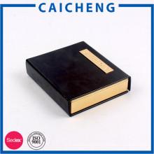 Buchform Kartonverpackung mit Magnet für Geschenk und Schmuck