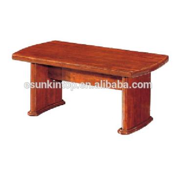 Кофейный столик из натурального дерева для отделки. Деревянный стол высокого качества для продажи (T005)