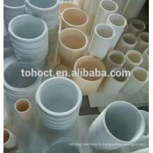 Haute résistance à la chaleur isolant alumine céramique doublure tuyau tube anneau