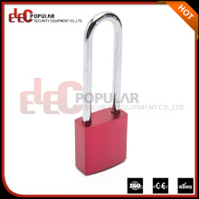 Elecpopular Seller Factory Colored Safety Double Keys Aluminium Padlock