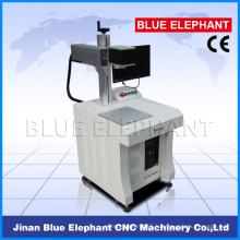 Machines portatives d'inscription de laser de fibre de 10W 20W pour le marqueur de laser de fibre en métal
