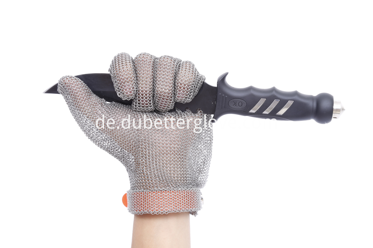 Dubetter ring mesh gloves wrist length