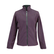 Ladies Purple Color Nylon Jacket