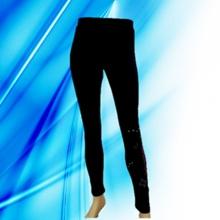 95% Baumwolle 5% Spandex Dame Entladung Druck Legging