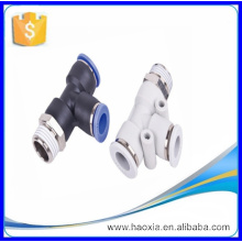 Zhejiang union tee professional PST series top quality pneumatic tube fitting