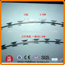 Razor type Concertina razor wire,razor wire for sale