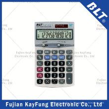 Calculateur de fonction de taxe à 12 chiffres pour la maison et le bureau (BT-130T)