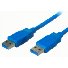 USB V3.1 AM-AM golden plated cable